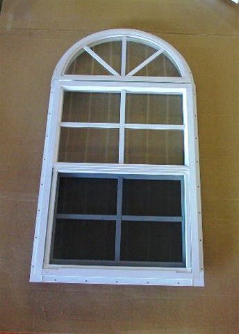 18x27 arch top window with j lap for Arch top windows
