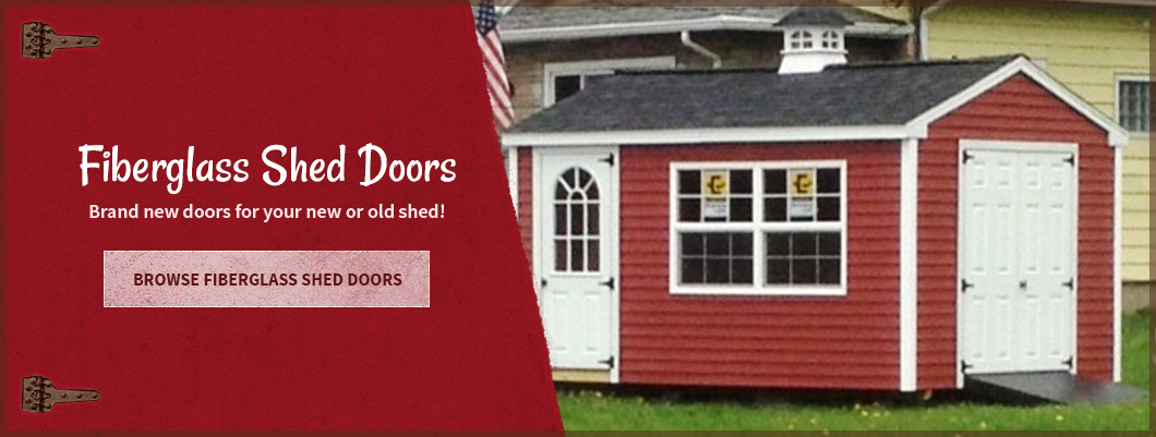 & SHED DOORS - N - MORE your one stop shop for all your storage shed needs