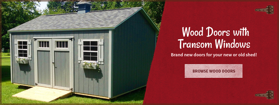 SHED DOORS - N - MORE your one stop shop for all your storage shed ...